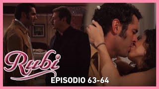 Rubí: Alejandro pelea con Yago por Rubí | Capítulo 63-64
