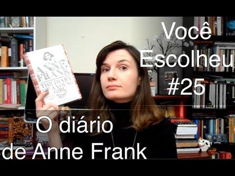 você-escolheu-#25:-o-diário-de-anne-frank