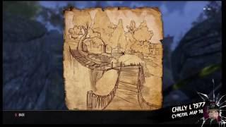 The Elder Scrolls Online Cyrodiil treasure map 18 xviii