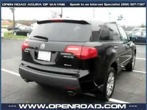 Open Road Acura Wayne >> Used Acura Mdx Nj New Jersey 2008 Located In Wayne At Open Road