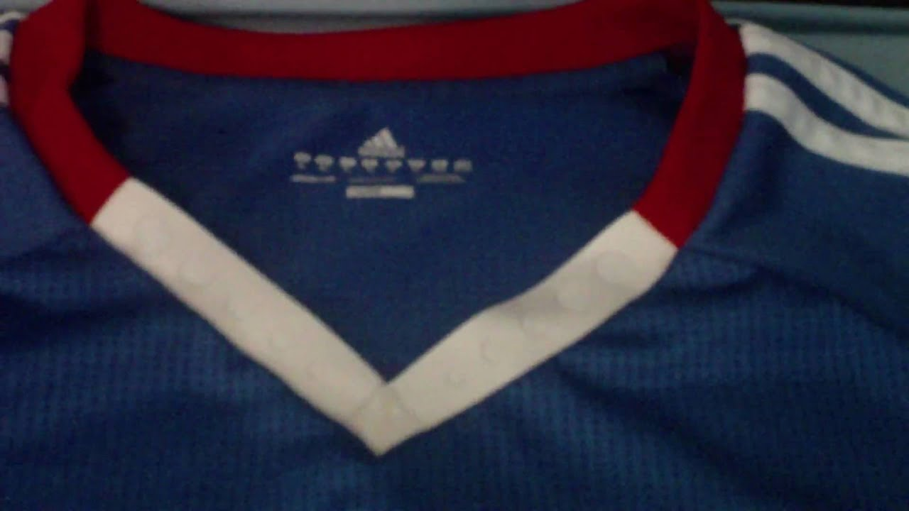 Chelsea 2010/11 Home Shirt + Double Embroidery (HD Test)