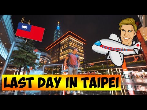 From Taipei with love !! (LAST DAY IN TAIWAN    ) - Josh Stanley