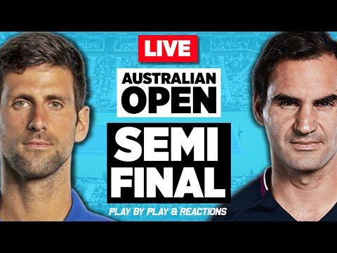 🔴 FEDERER Vs DJOKOVIC | Australian Open 2020 (SF) | LIVE Tennis Stream Play-by-Play