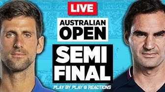 🔴 FEDERER vs DJOKOVIC | Australian Open 2020 (SF) | LIVE Tennis Stream Play-by-Play