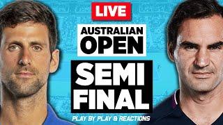 🔴 FEDERER vs DJOKOVIC | Australian Open 2020 | LIVE Tennis Play-by-Play