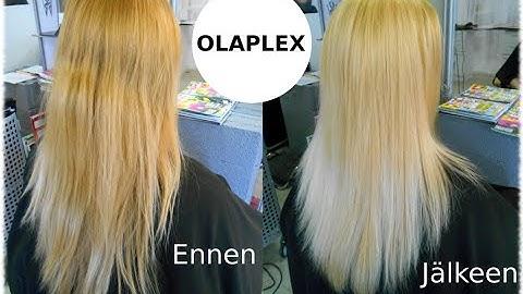 Olaplex ja hiustenhoitoni