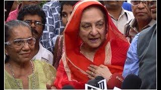 Saira Banu about Dilip Kumar s condition It was