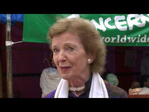 Mary Robinson in Ethiopia - Climate Change