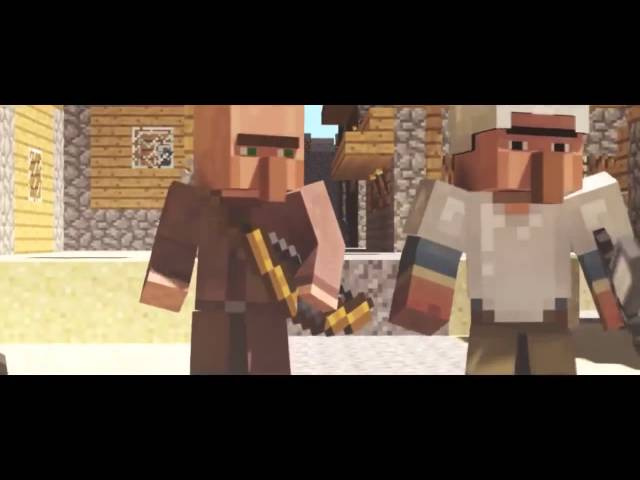 Dragons   A Minecraft Parody of Radioactive By Imagine Dragons Music Video
