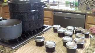 Home Canning Red Wine Jelly