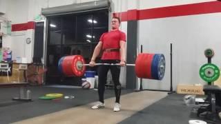 300kg/661lb deadlift!