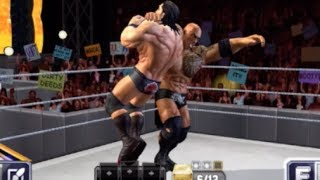 Rock Bottom! WWE: Champions - Free Puzzle RPG Part 2 - gameplay demo