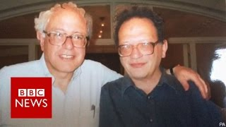 'I knew he'd make a huge splash' says Bernie's brother Larry Sanders - BBC News
