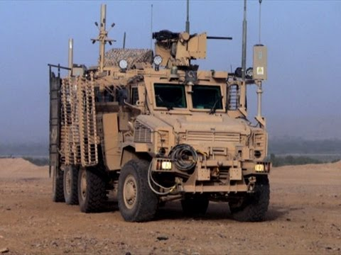Buffalo Truck Picks Up An IED Wire - Blood Road Bomb Squad, Episode 2