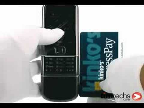 Nokia 8800 Sapphire Arte Video Review TIMTECHS.COM