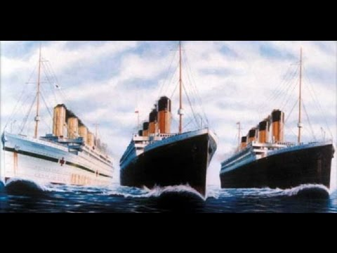 RMS Olympic RMS Titanic HMHS Britannic