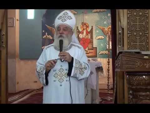 القداس الإلهي يوم إنتخابات مجلس كنيسة الشهيد العظيم مارجرجس بالمطرية
