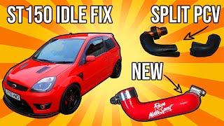 Fiesta ST150 Idle issue fix (Split PCV hose)