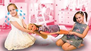 Алина и ее новые куклы Алинка и Юляшка снова играют в куклы Забавная история