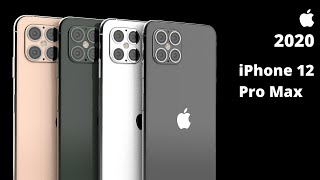 2020 iPhone 12 Concept — Apple iPhone 12 Pro Max Trailer Concept !