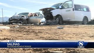 Salinas school van hit by alleged impaired driver