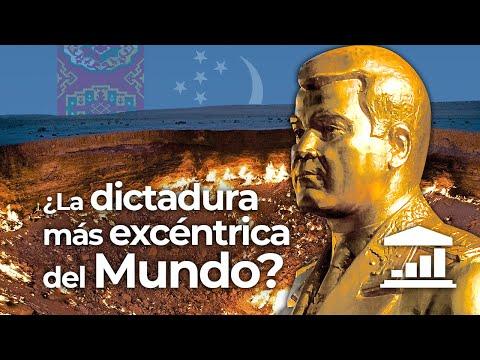 TURKMENISTN, La dictadura ms EXTRAVAGANTE del MUNDO? - VisualPolitik