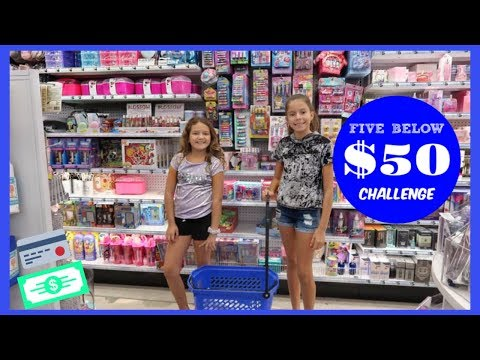 $50.00 FIVE BELOW CHALLENGE WITH KATHERYN   SISTER FOREVER
