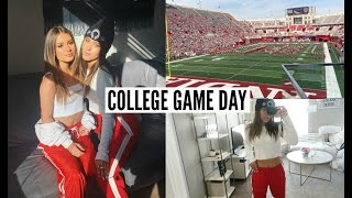 DAY IN MY LIFE AT INDIANA UNIVERSITY (game day)