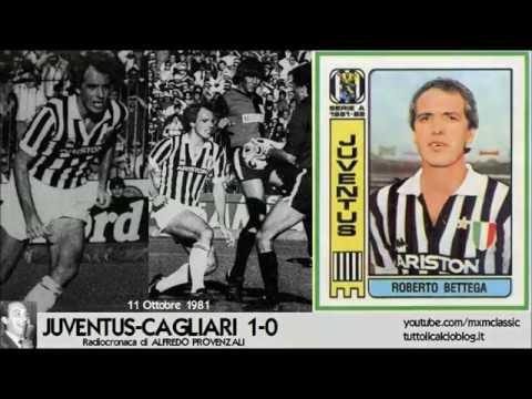 11 Ottobre 1981 - Juventus-Cagliari 1-0, radiocronaca di Alfredo Provenzali (Minuto per Minuto)