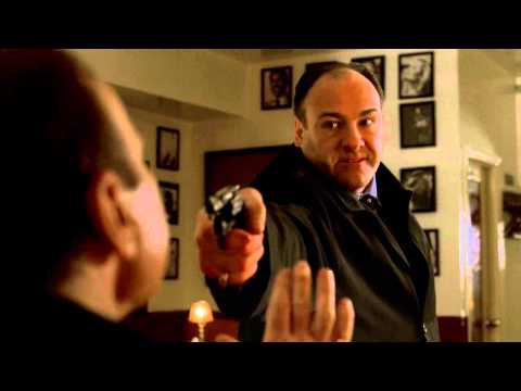 Tony beats Coco Cogliano (The Sopranos, season 6)