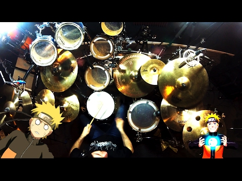 Kin | Naruto Shippuden 9th Opening | 7!! | Lovers | Drum Cover Cover (Studio Quality)