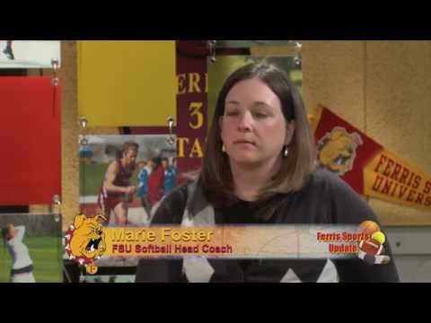 Ferris Sports Update TV - Softball Head Coach Marie Foster