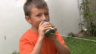 How To Make Your Own String Tin Can Phone