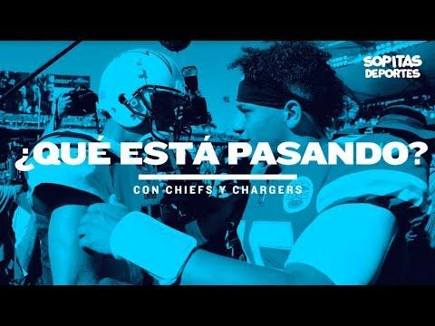En YouTube: Más allá de la NFL en México ¿cómo llegan Chiefs y Chargers al encuentro?