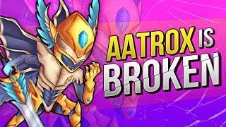 I TOLD YOU AATROX WAS BROKEN