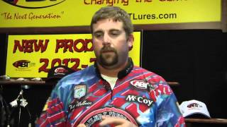 New ABT X-2 Crankbaits with Nate Wellman ICAST 2012
