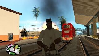 GTA SA Indonesia - Kekacauan di Stasiun Kereta Api