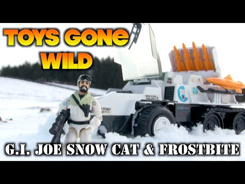 Toys Gone Wild - G.I. Joe 1985 Snow Cat & Frostbite