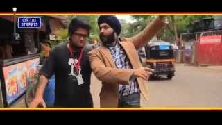 Manpreet Singh Banga  Son Of Sardar Film Promotion On The Streets