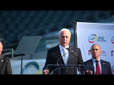 Eagles owner Jeffrey Lurie on why he helped create the Eagles Autism Challenge