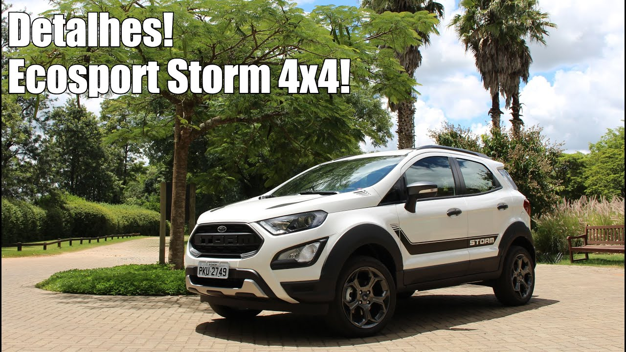 novo ford ecosport storm 4x4 falando de carro youtube. Black Bedroom Furniture Sets. Home Design Ideas