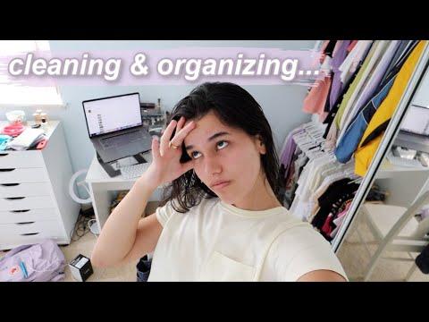 Quarantine Cleaning... Again Lol *organizing My Room!*