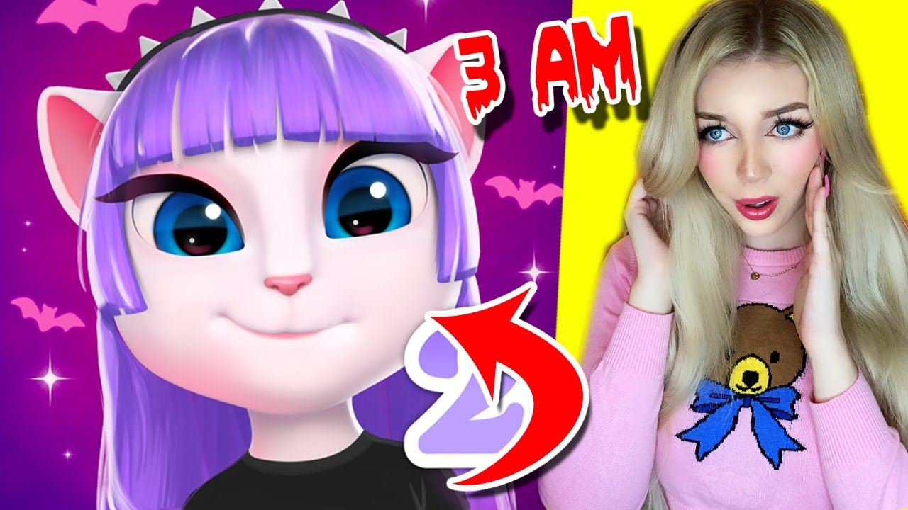 Do NOT Download the NEW Talking Angela 2 App...(*SHE IS WATCHING US*)
