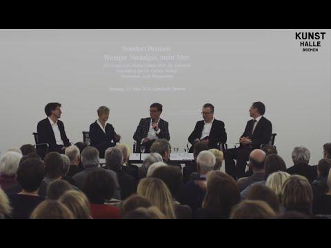 """Podiumsgespräch """"Standort Bremen: Weniger Nostalgie, mehr Mut!"""" am 15. März 2016"""