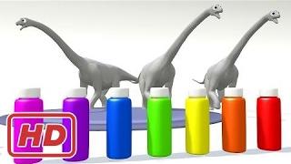 Farben zu lernen, denn Kinder Farben mit Dinosaurier für Kinder lernen   Farben lernen Video für Kl