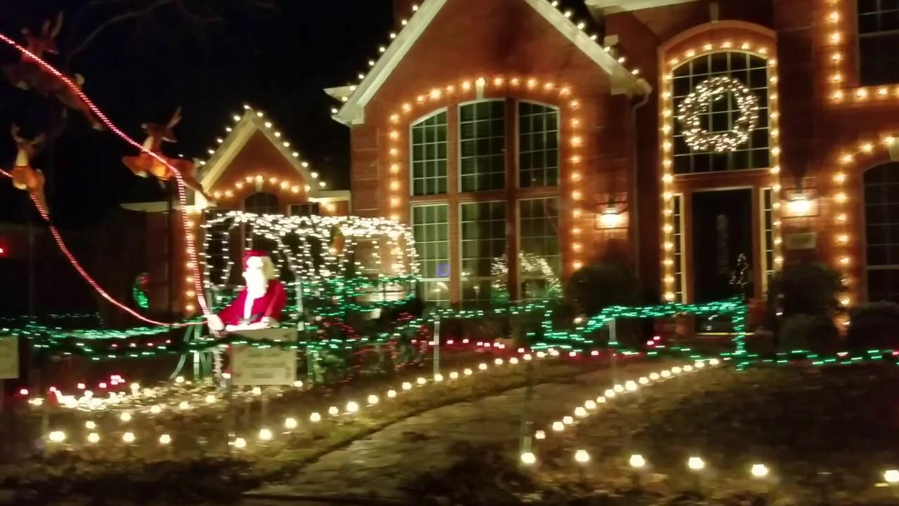 deerfield christmas lights 122016 - Deerfield Plano Christmas Lights