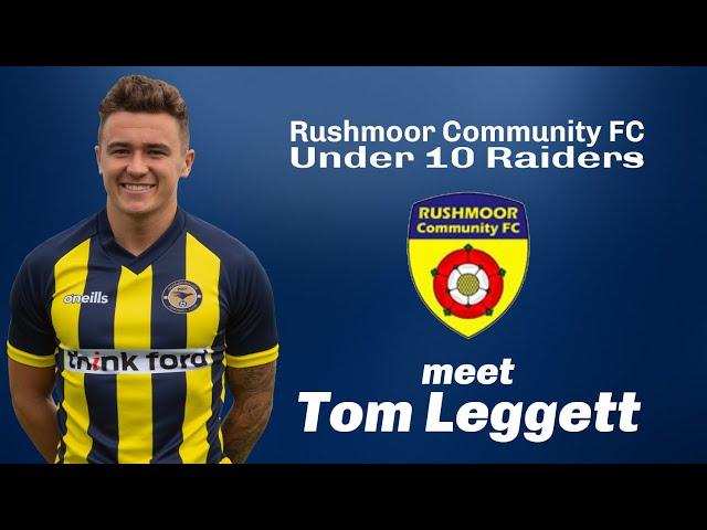 2020-06-16 | Rushmoor Community FC Under 10 Raiders meet Tom Leggett
