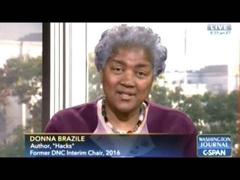 Donna Brazile Takes C-SPAN Callers Questions For An Hour