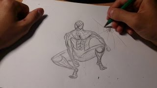 Учимся рисовать►Рисуем Человека паука ♛ #1(https://youtu.be/FDUrN-w7-OI◅ ПОСМОТРИ МОЁ ВИДЕО ПО CS:GO УПОРОТЫЙ BUTHEAD!, 2015-06-06T09:38:39.000Z)