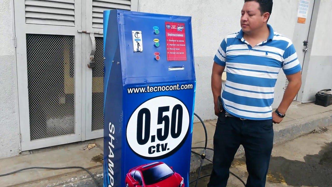 Auto lavado express con monedas ecuador kiosco tecnocont.com ...
